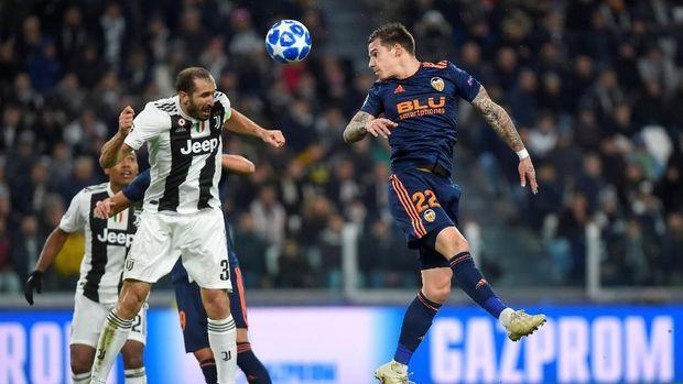 Juventus sempat kesulitan membobol gawang Valencia.