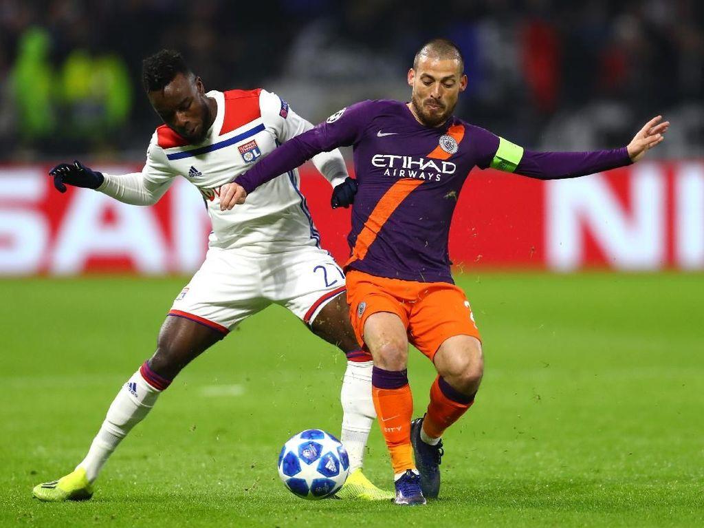 Hasil Liga Champions: City Kunci Kelolosan Usai Imbang dengan Lyon