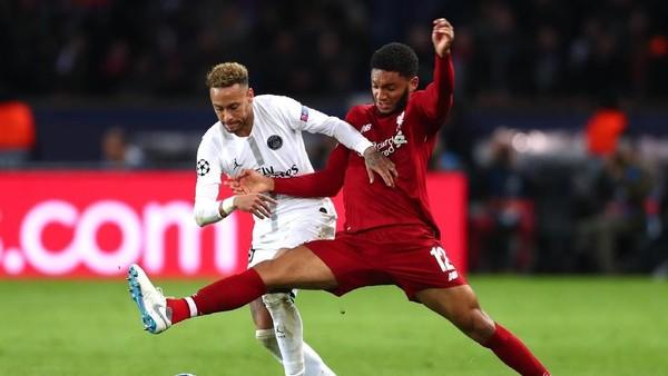 Ketat, PSG Ungguli Liverpool 2-1 di Babak Pertama