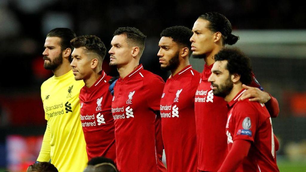 Kalah dari PSG, Nasib Liverpool di Tangan Napoli