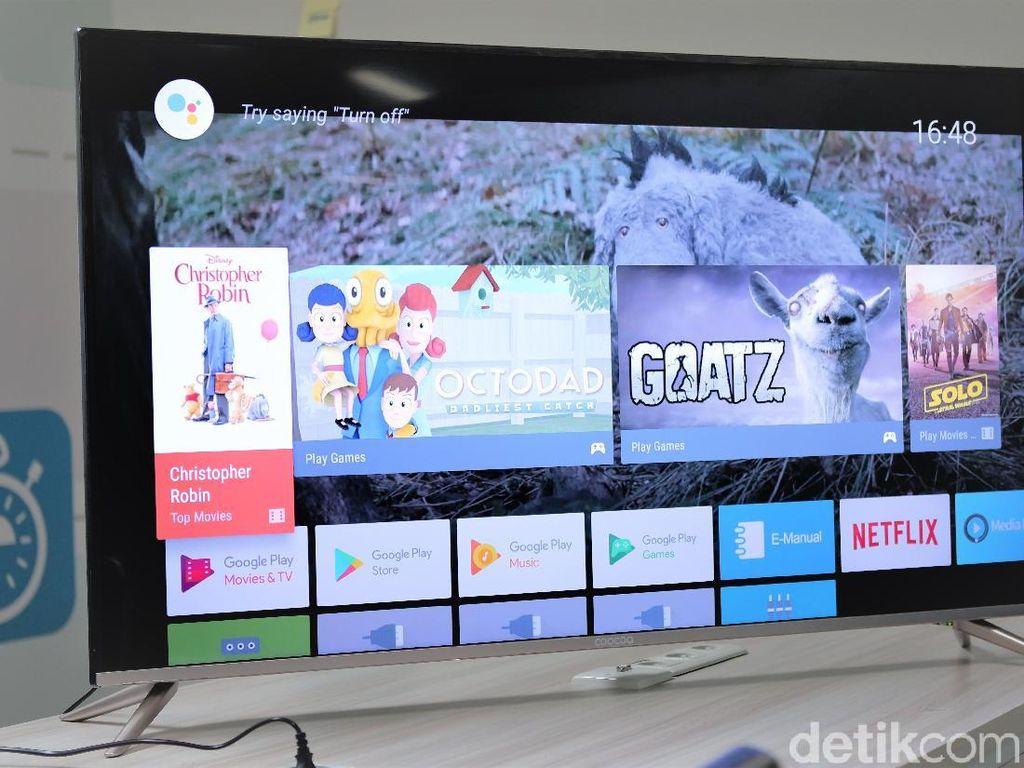 Coocaa 50S5G: TV UHD 50 Inch yang Harganya Bikin Kaget