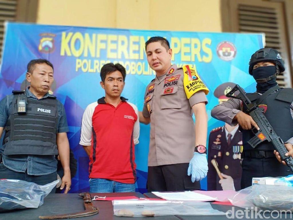 Pria yang Bacok Jari Teman Hingga Putus di Probolinggo Tertangkap