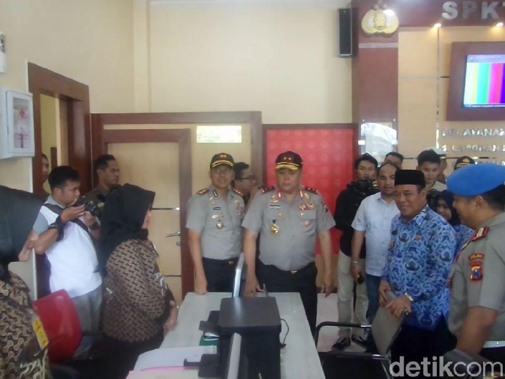 Kapolda Jatim Resmikan Gedung Layanan Berbasis IT di Lamongan
