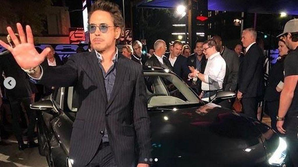 Iron Man Pamer Mobil Listrik Audi