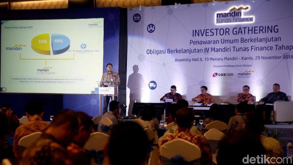 Mandiri Tunas Finance Terbitkan Obligasi Rp 3 Triliun