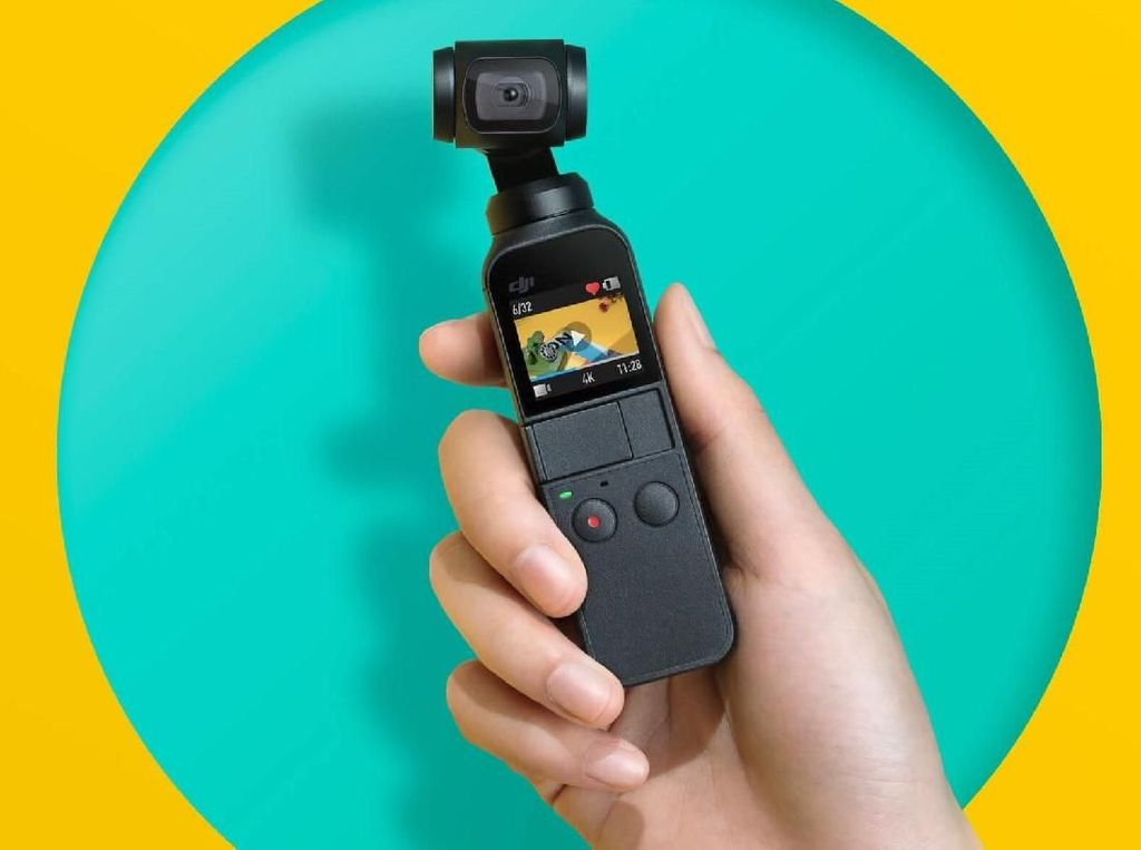 DJI Mau Bikin Action Camera Saingi GoPro