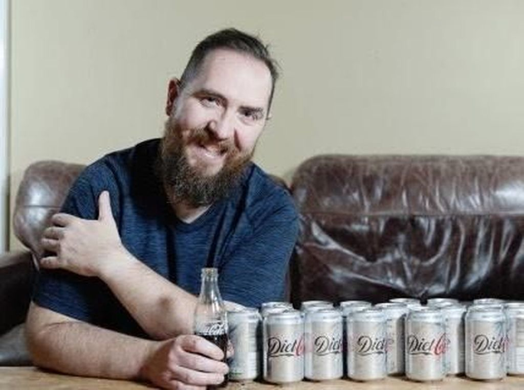 Waduh! Pria Ini Habiskan 5 Liter Minuman Soda Tiap Hari