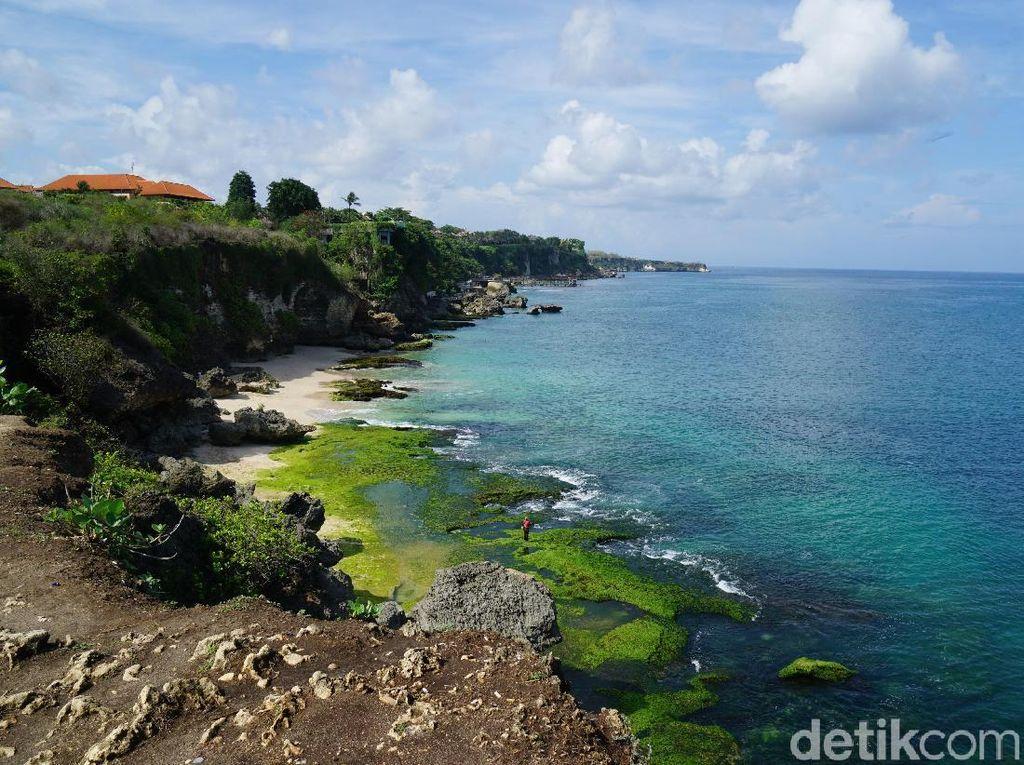 Foto: Ada Pantai Cantik Tersembunyi di Jimbaran, Bali