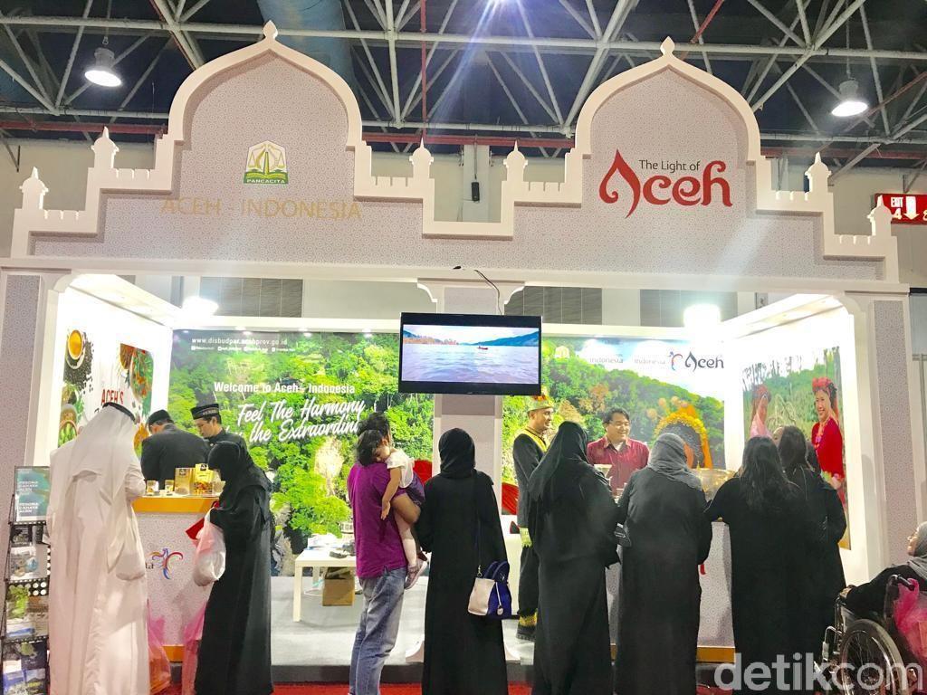 Lirik Turis Timur Tengah, Wisata Aceh Dipromosikan di Jeddah