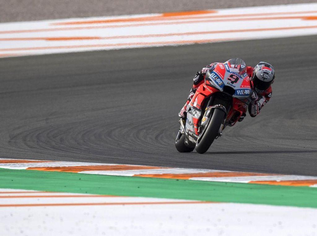 Petrucci Tercepat di Hari Pertama Tes MotoGP Jerez
