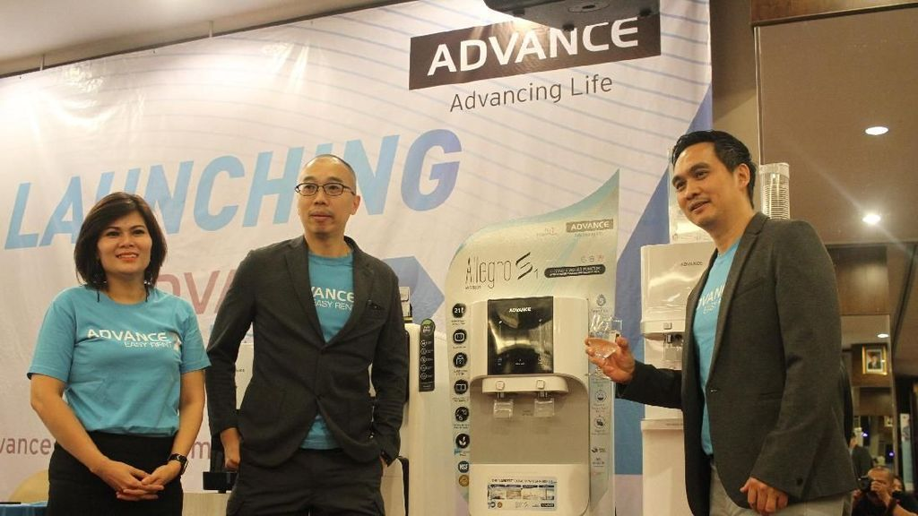 Advance Rilis Rental Water Purfier Pertama di Indonesia