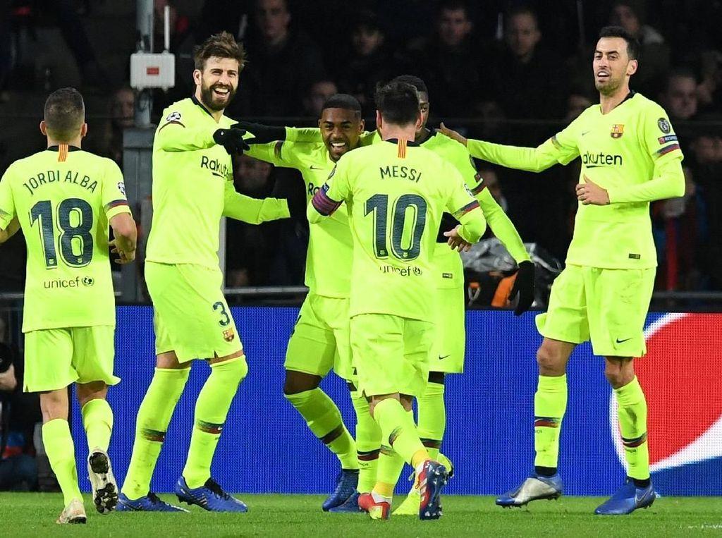 Messi: Gol Pique Memang Hoki