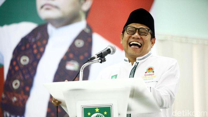 Muhaimin Iskandar siap jadi Ketum PSSI (Grandyos Zafna/detikSport)
