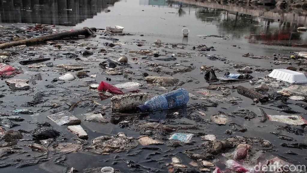 Bikin Miris, Pelabuhan Muara Baru Masih Banyak Sampah