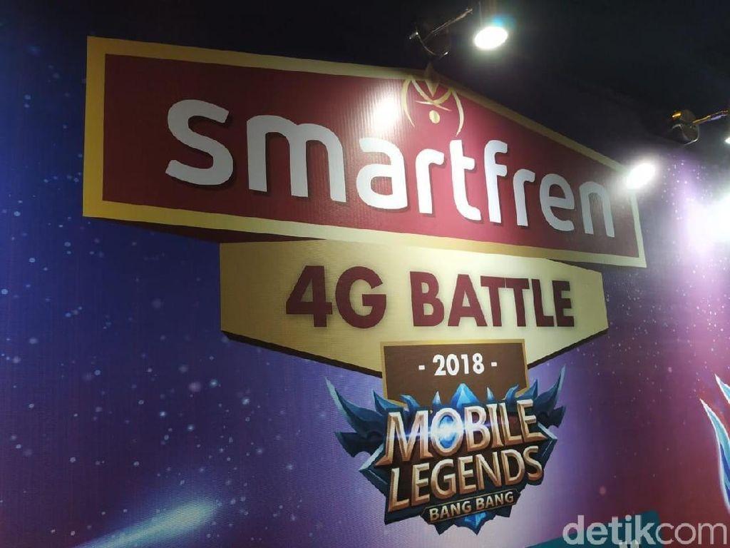 Smartfren Gelar Turnamen Mobile Legends Kelas Amatir