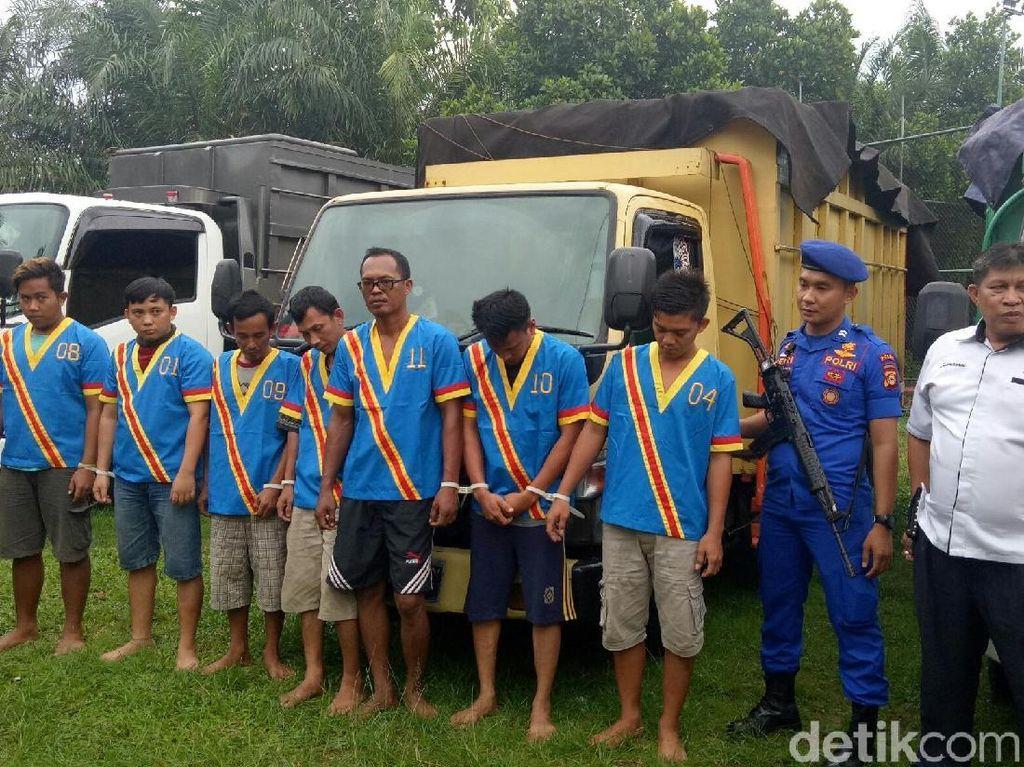 Penyelundupan 50 Ton Solar Ilegal di Sumsel Digagalkan Polisi