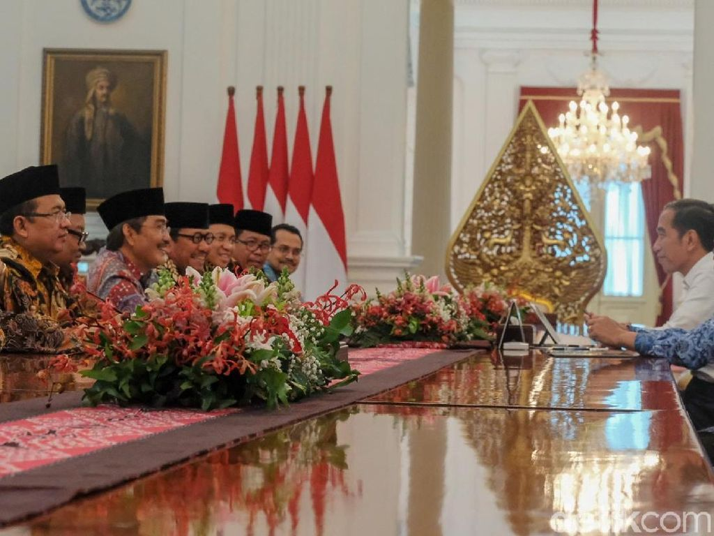 ICMI Bertemu Jokowi di Istana, Priyo Budi Santoso Hadir