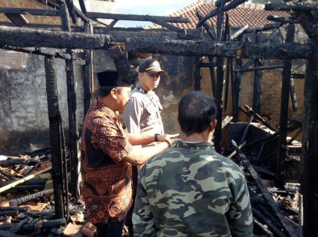 2 Rumah Terbakar di Ciwidey, 1 Orang Tewas