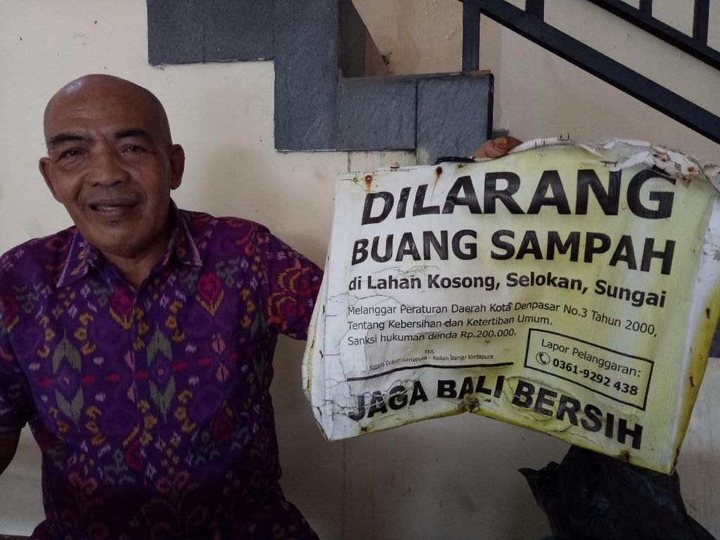 Sayembara di Bali: Penangkap Pembuang Sampah Dapat Rp 1,5 Juta!