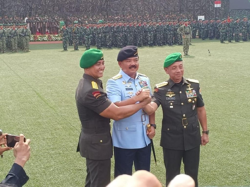Lantik KSAD, Panglima TNI Ingatkan Netralitas di Pilpres 2019