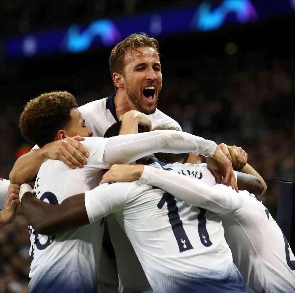 Menanti Malam Spesial Tottenham di Camp Nou