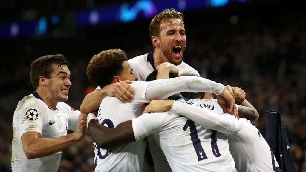 Jalan Tottenham Menuju 16 Besar Lebih Sulit Ketimbang Inter
