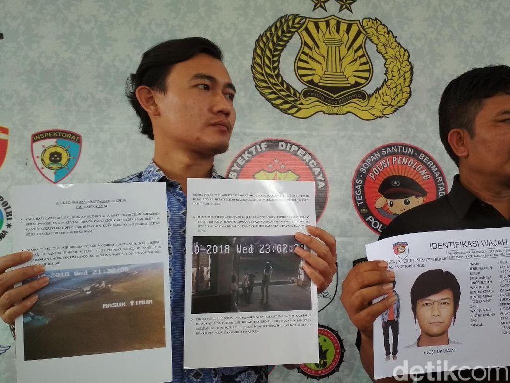 Tersangkut Kasus Surat Palsu KPK, Aktivis Antikorupsi Blitar Mangkir