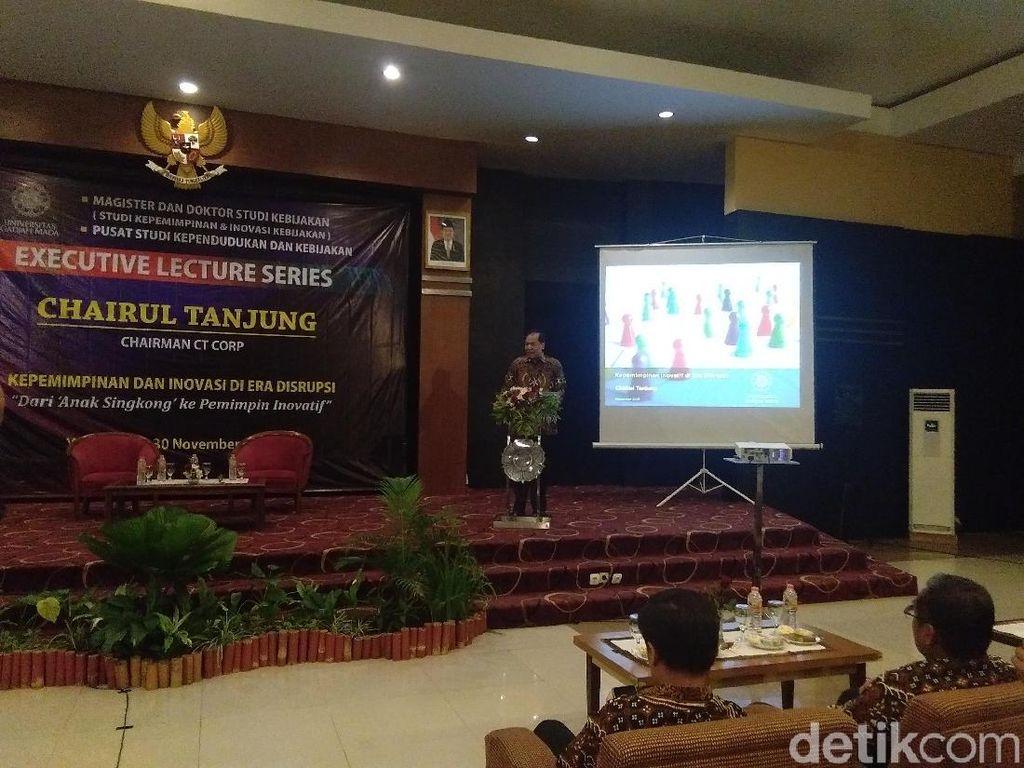 Chairul Tanjung Dorong Kampus Menjadi Enterpreneur University