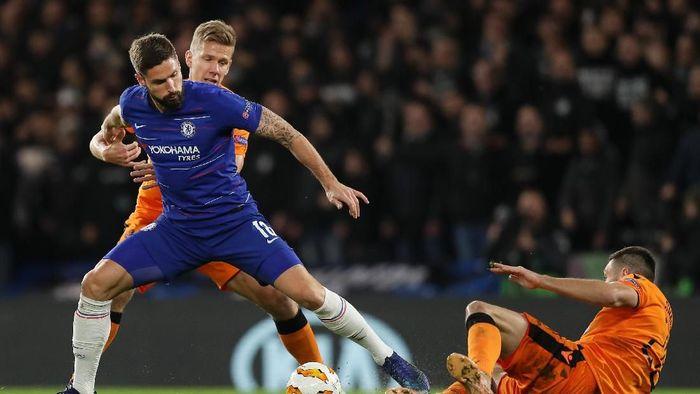 Chelsea menaklukkan PAOK 4-0 di Stamford Bridge. (Foto: Richard Heathcote/Getty Images)