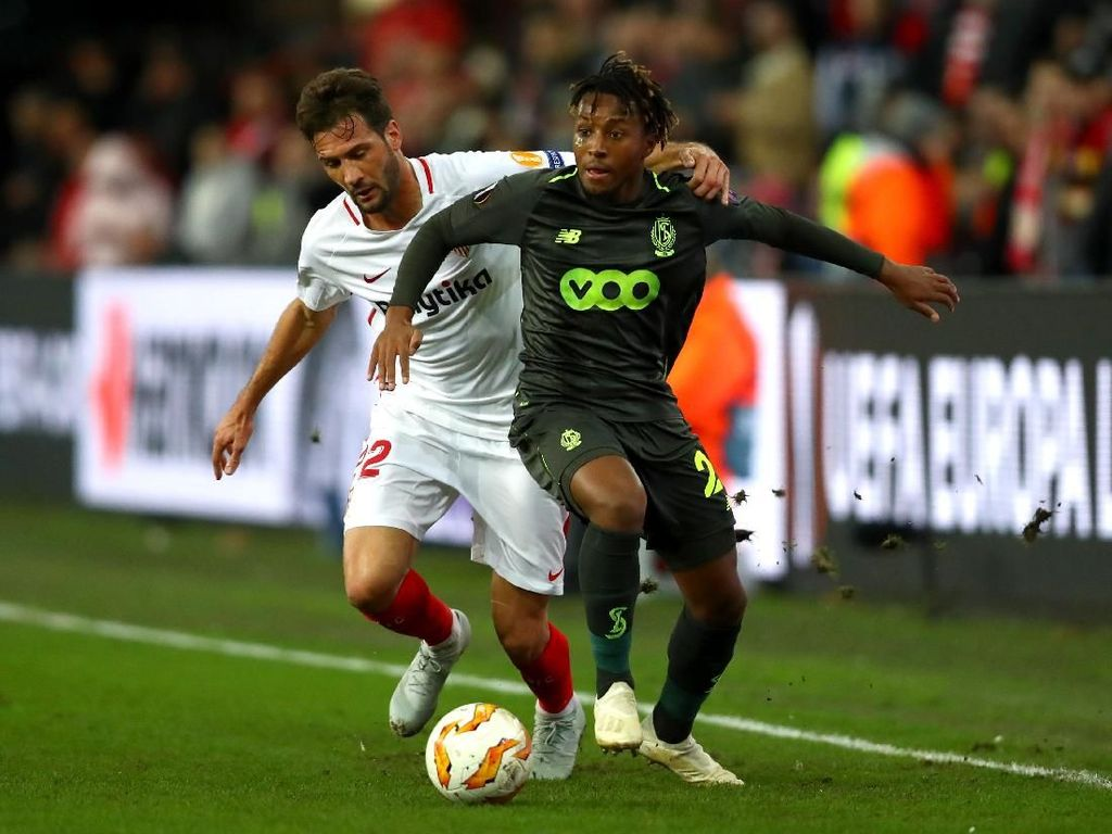 Hasil Liga Europa: Sevilla Tumbang di Markas Standard Liege