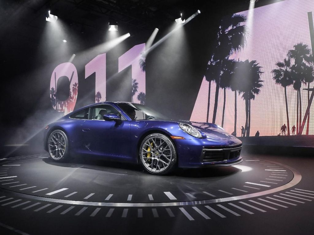 Porsche Rilis 911 Terbaru, Tenaganya Lebih Buas