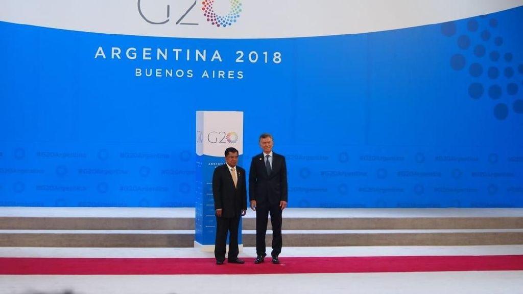 Foto JK di Argentina, Hadiri KTT G20 Hingga Temui Putra Mahkota Saudi