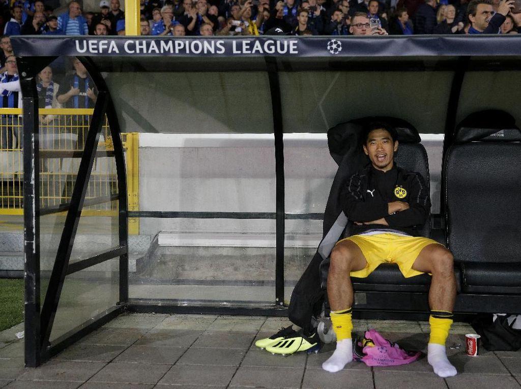 Dortmund Pinjamkan Kagawa ke Besiktas
