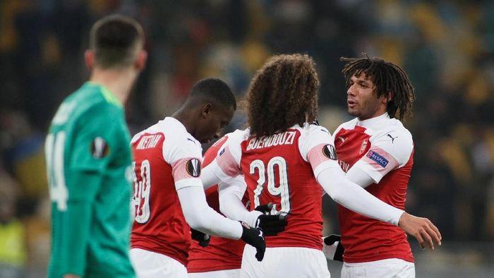 Arsenal menang 3-0 atas Vorskla Poltava. (Foto: Valentyn Ogirenko/REUTERS)