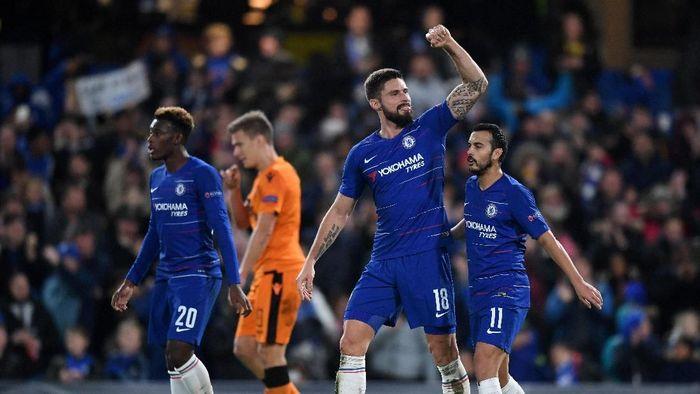 Chelsea menang telak 4-0 atas PAOK. (Foto: Michael Regan/Getty Images)