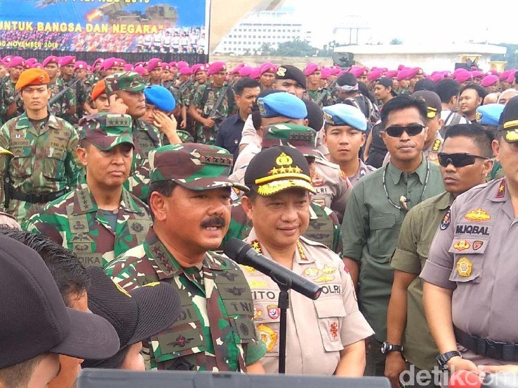 Prajurit TNI Dibekali Buku Panduan Netral di Pileg dan Pilpres