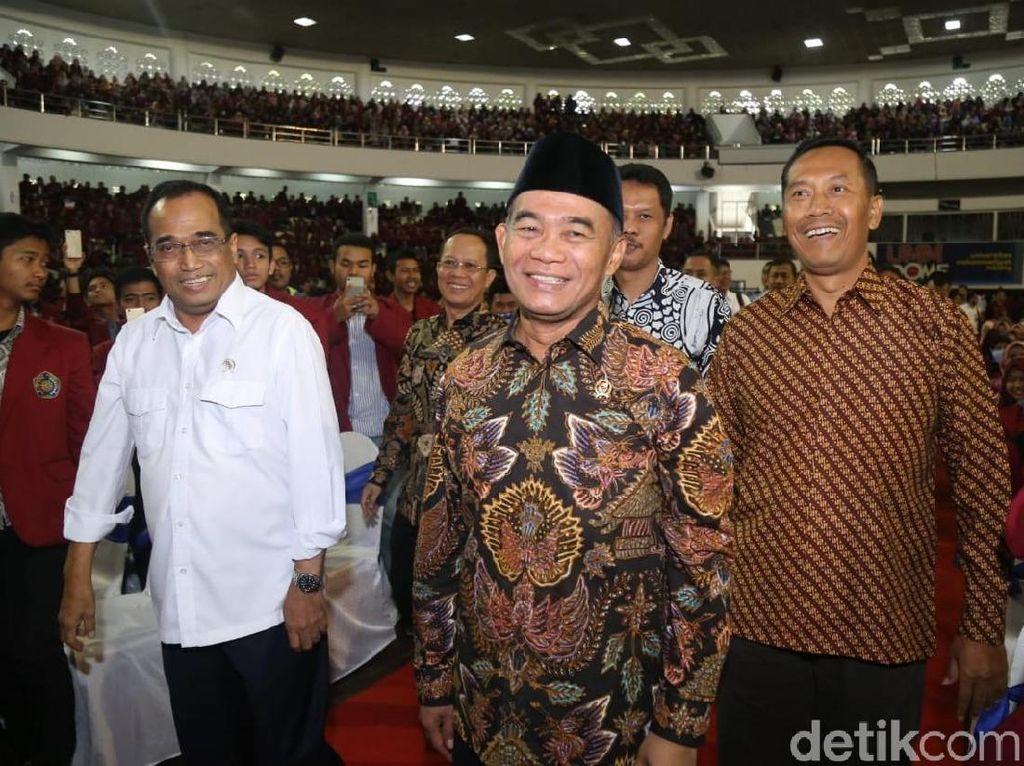 Duet Menhub-Mendikbud Semangati Mahasiswa UMM untuk Majukan Indonesia