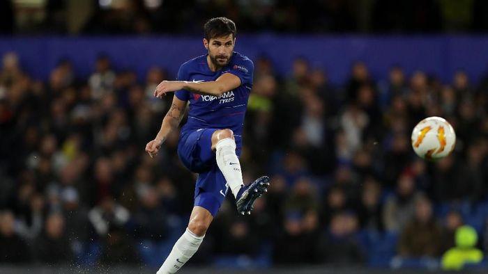 Cesc Fabregas kabarnya akan meninggalkan Chelsea pada bursa Januari nanti (Foto: Richard Heathcote/Getty Images)