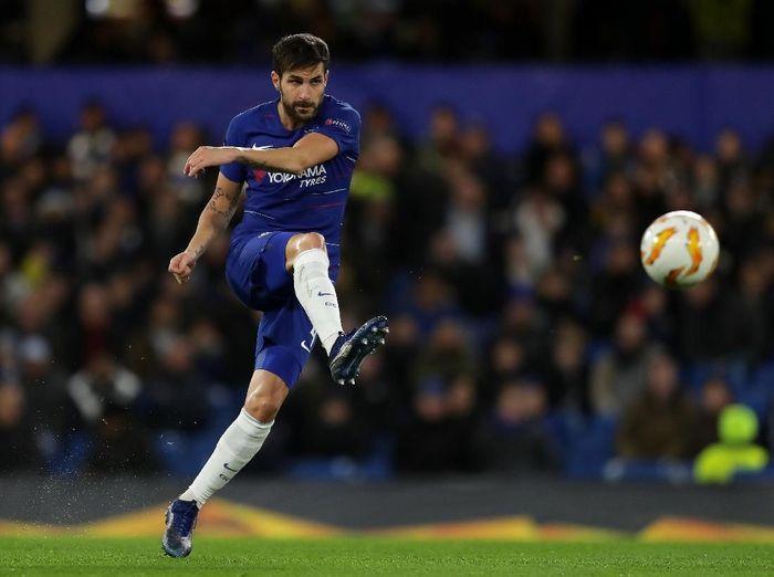 Cesc Fabregas tampil oke saat Chelsea menggilas PAOK. (Foto: Richard Heathcote/Getty Images)