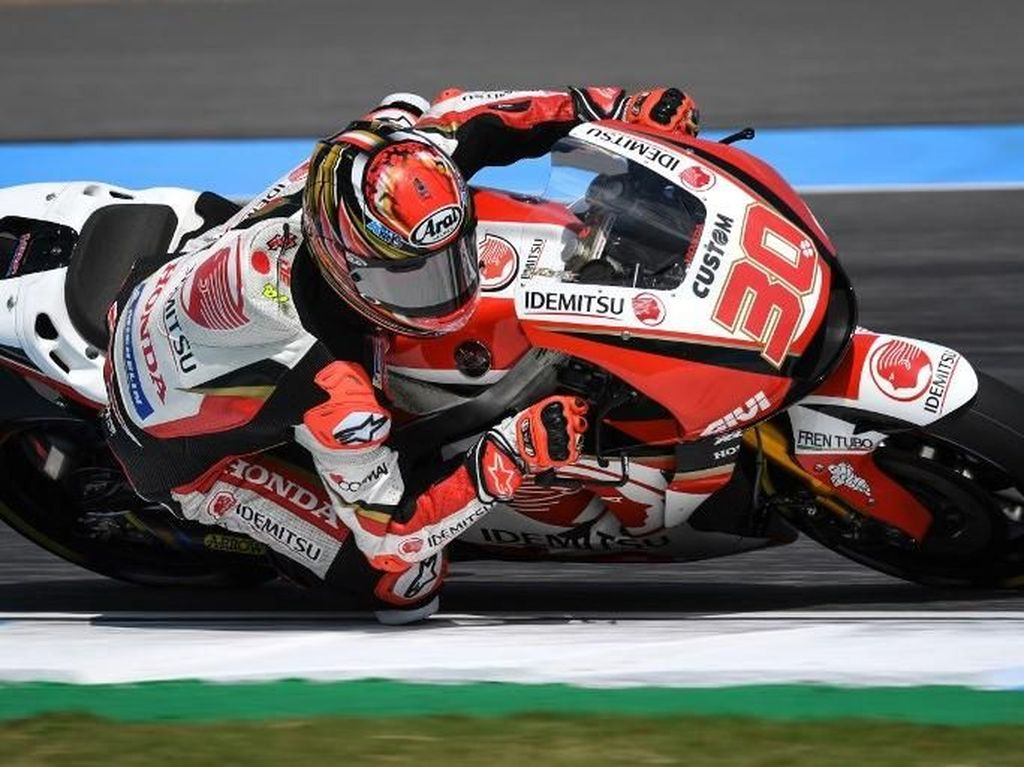 Kejutan! Nakagami Tercepat di Free Practice II MotoGP Andalusia