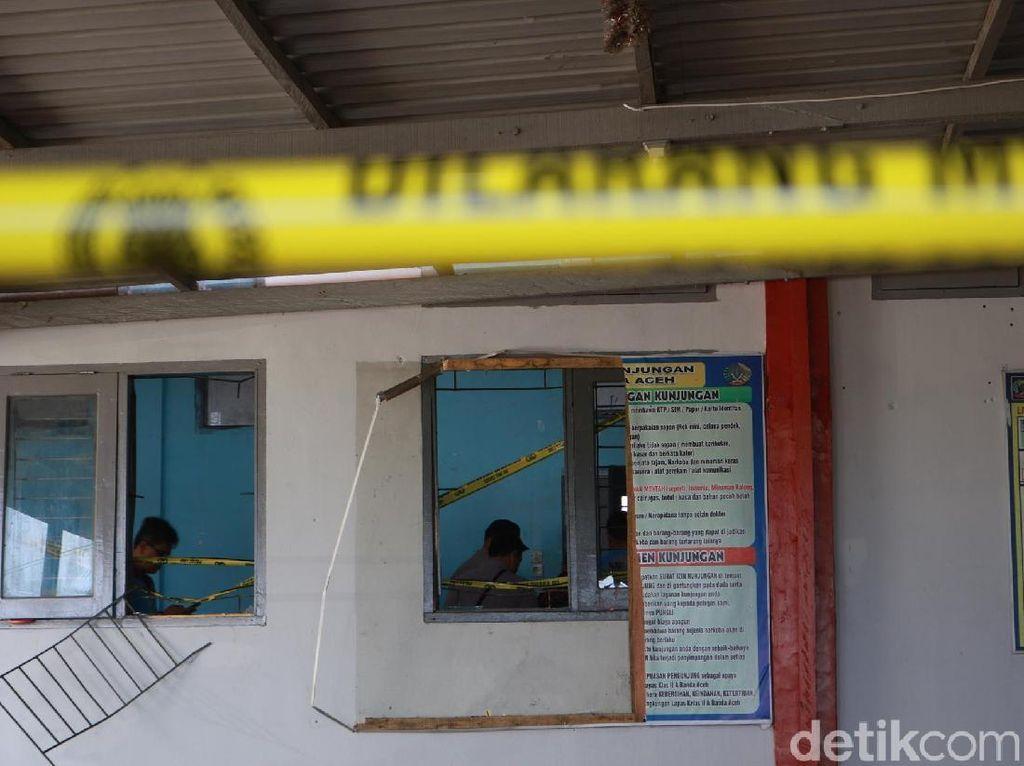 Duh! 1 Sipir Vs 70 Orang Napi di LP Aceh Saat Rusuh