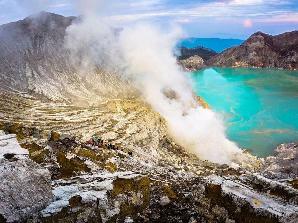 BBKSDA Jawa Timur Terapkan Pembelian Online Tiket Masuk Ke Kawah Ijen