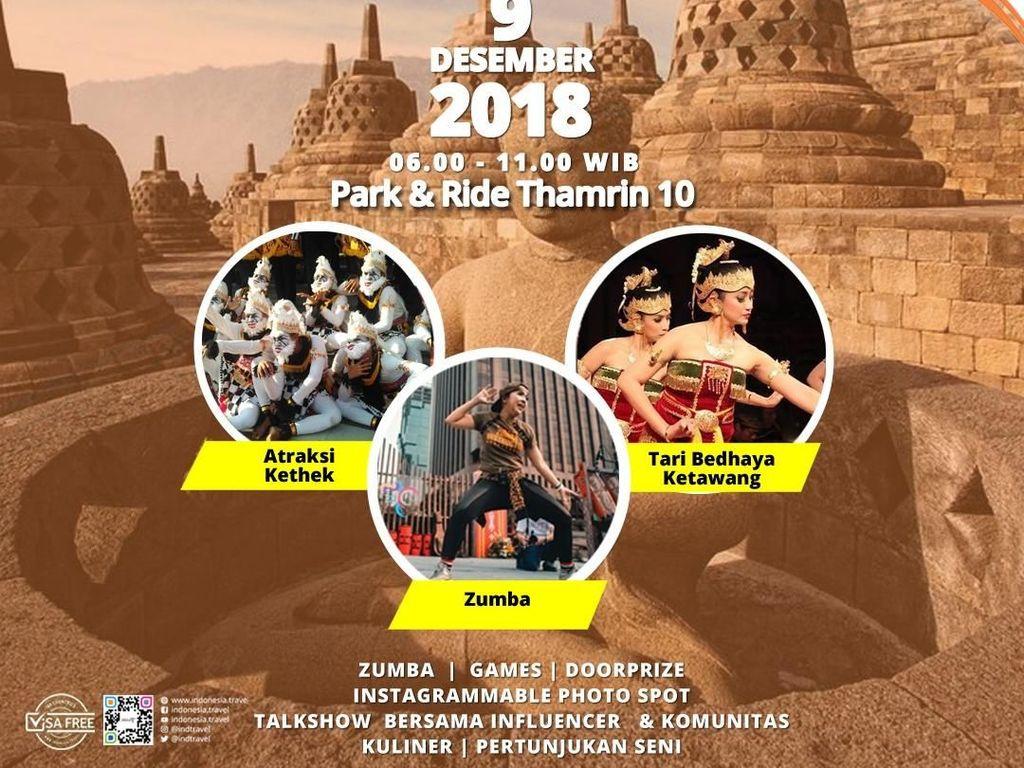 Kehadiran Borobudur Buat CFD Jakarta Jadi Galeri Budaya Jawa