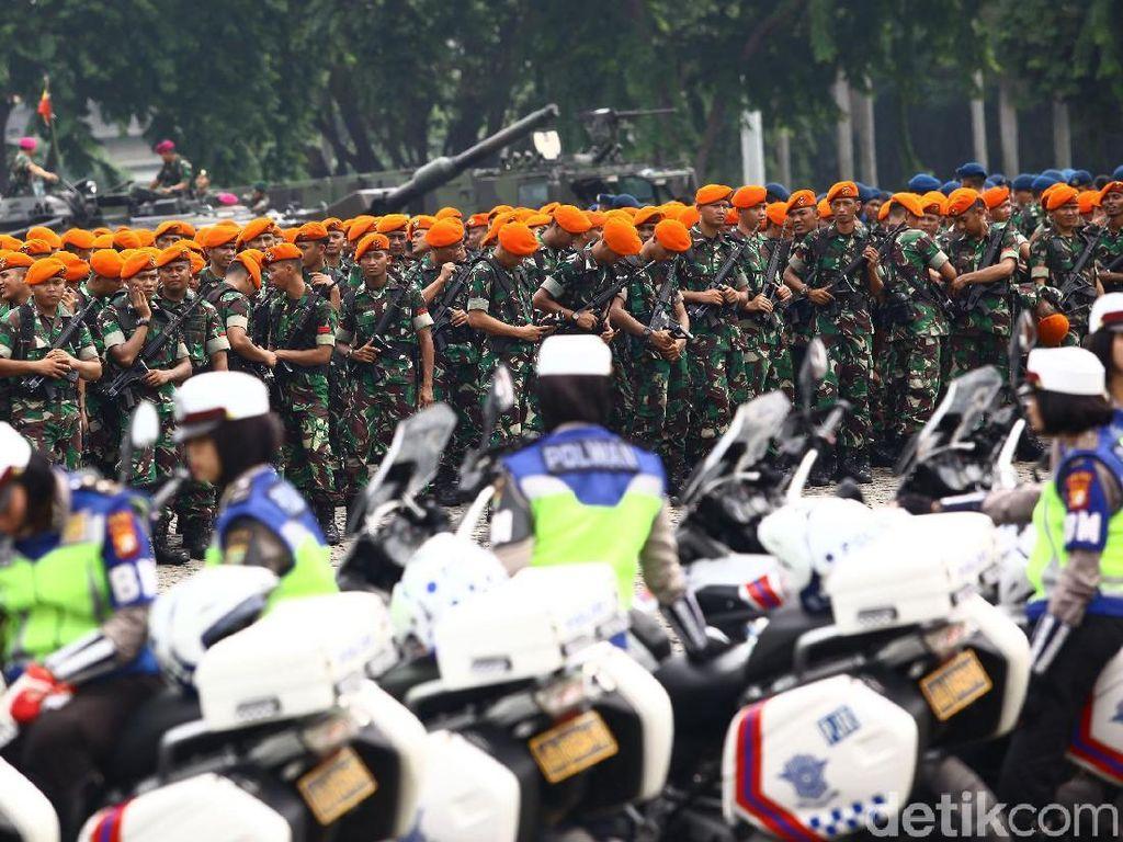 Polri Kerahkan Ribuan Personel Amankan Reuni 212