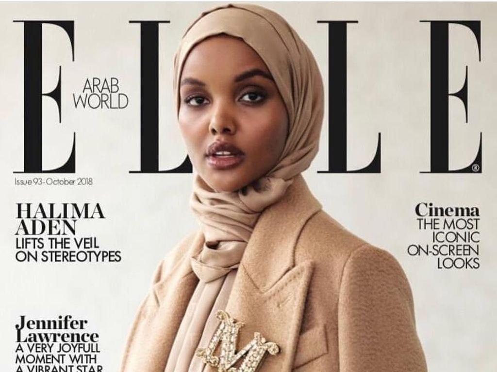 10 Potret Halima Aden, Hijabers Somalia yang Eksis di Sampul Majalah Dunia