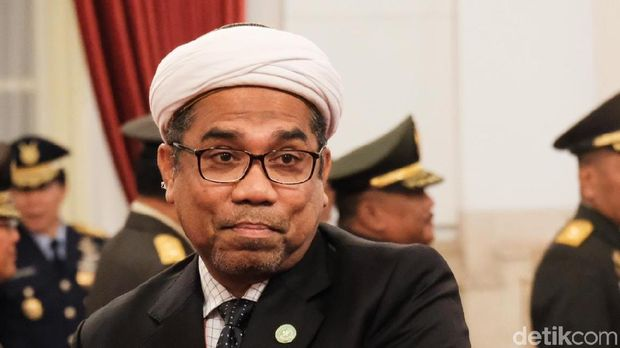 Tenaga Ahli Utama Kedeputian IV Bidang Komunikasi Politik dan Diseminasi Informasi KSP Ali Mochtar Ngabalin