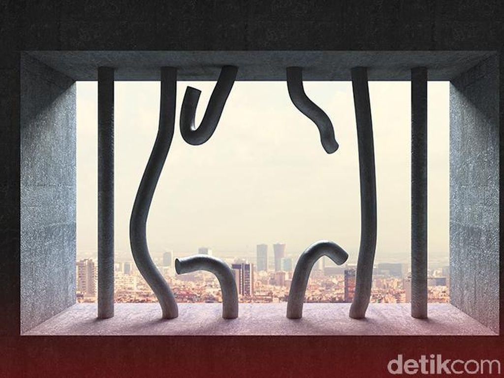 Kemenkum HAM Periksa Teman WN China yang Kabur dan Petugas Lapas Tangerang