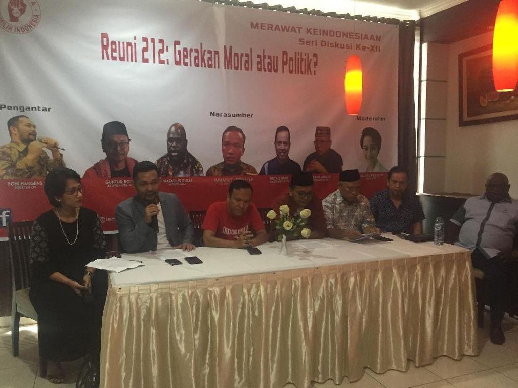 LPI: Reuni 212 Telah Jadi Gerakan Oposisi Politik