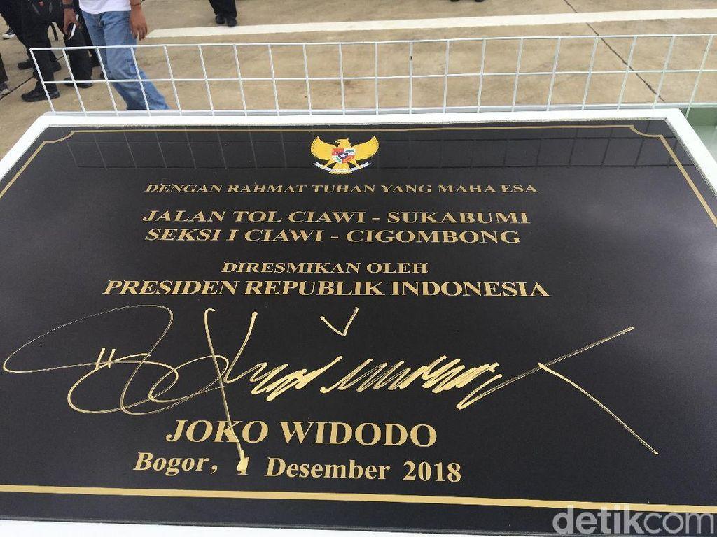 Cerita Jokowi Resmikan Tol Bocimi yang Dinanti Sejak 21 Tahun Lalu