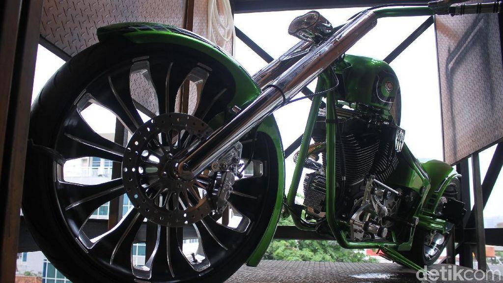 Harley Chopper Hand Made yang Bikin Kesengsem